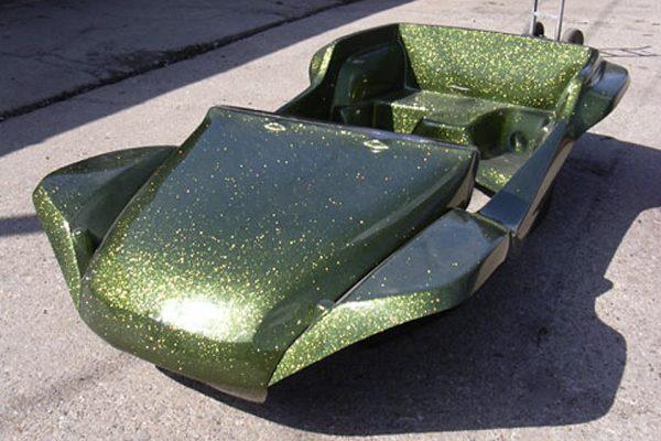 moss green flake